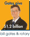 Why would Bill Gates give $1.2 billion to Rotary International? - Outside Brochure